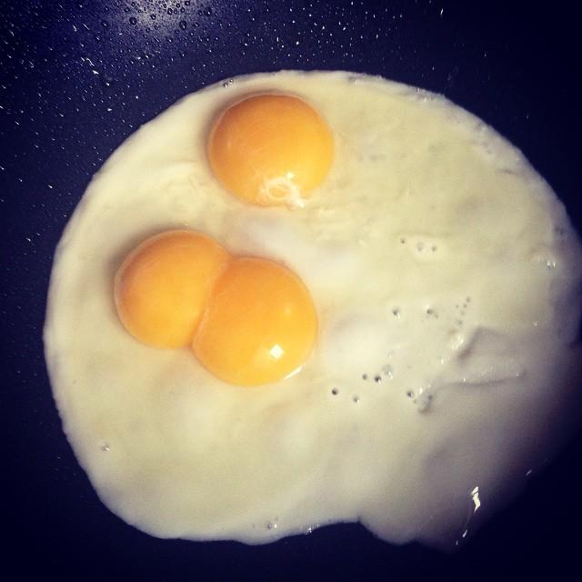 3 yolks